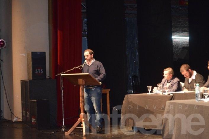 Diferentes actores locales debatieron por la tarifa de agua