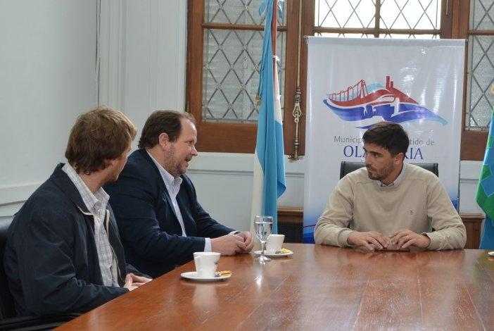 Funcionarios provinciales de Minería se reunieron con Galli