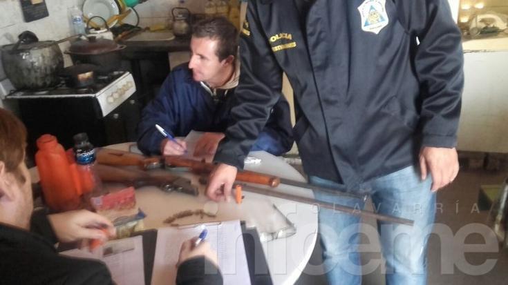 Vaciaron pozo de un baño en búsqueda del arma que mató a Fernando Palahy