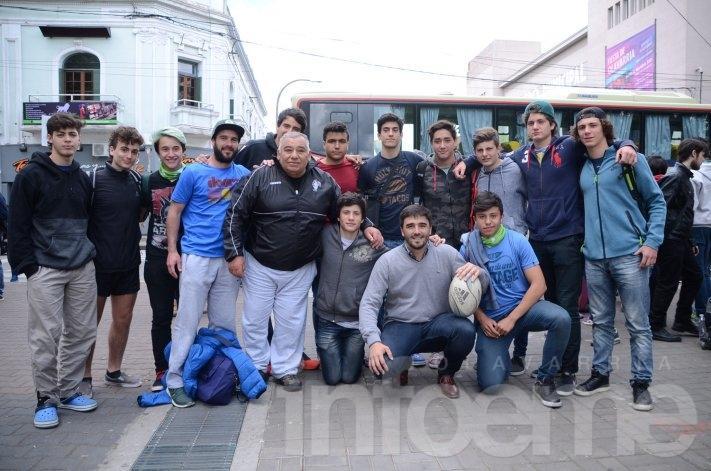 Juegos Bonaerenses: llegó el primer grupo de deportistas locales