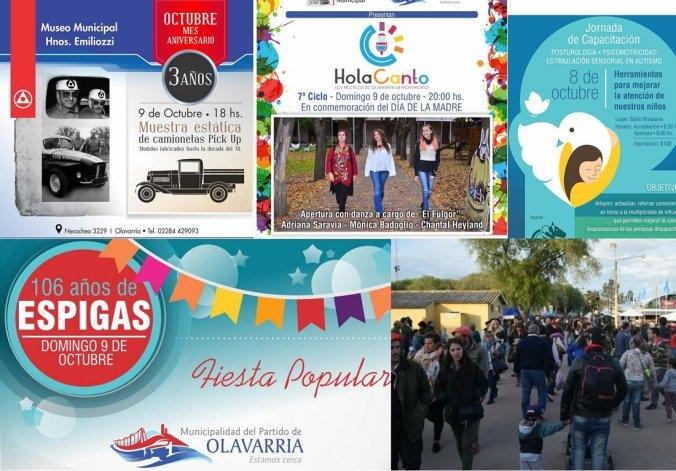La agenda para el fin de semana largo en Olavarría