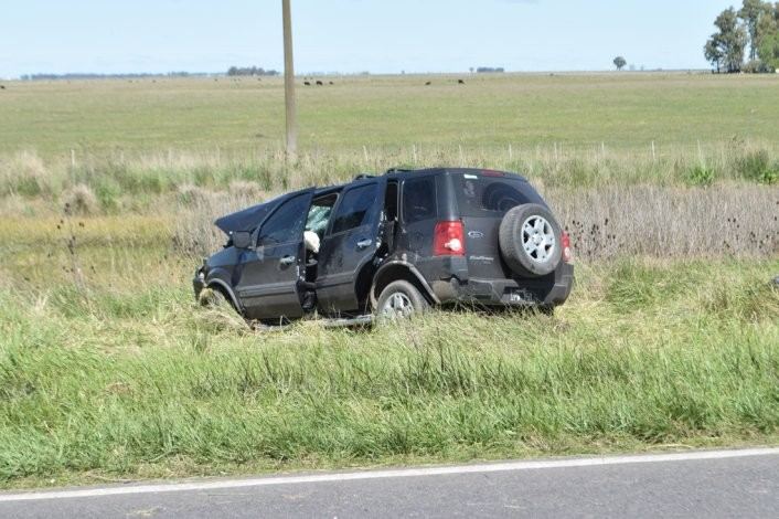 Falleció una de las víctimas del accidente de Ruta 51