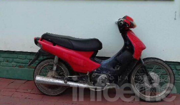 Menor interceptado en una moto con pedido de secuestro