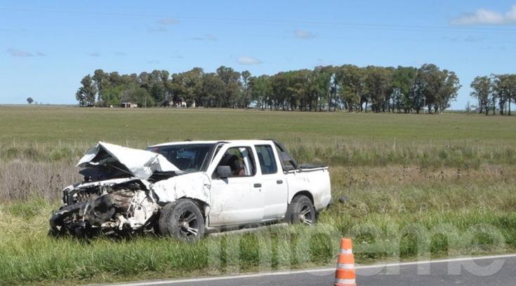 Falleció otra víctima del terrible accidente en Ruta 51 y otras siete siguen internadas