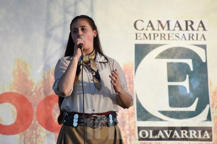 El folclore se hizo presente en la Expo