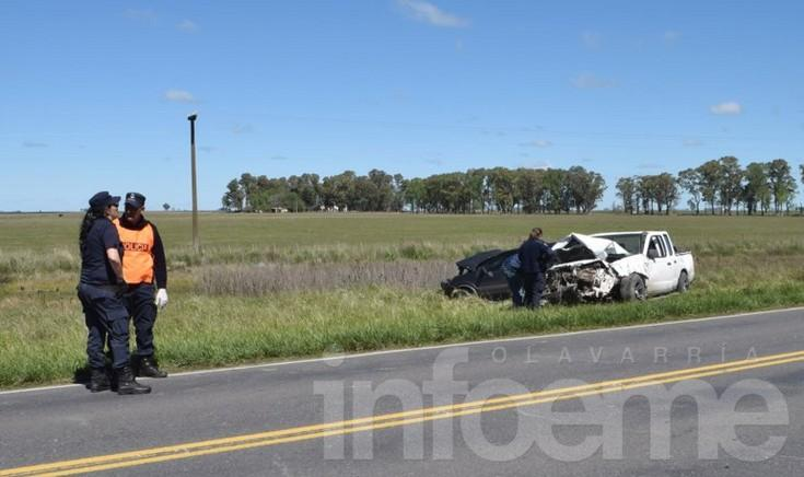 Heridos en accidente de Ruta 51 fueron trasladados a Buenos Aires