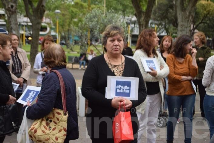 """Olavarría también se movilizó en el centro """"Para que no te pase"""""""