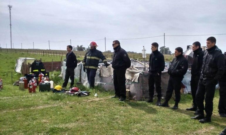 Bomberos capacitó a personal de la Unidad Penal Nº 27