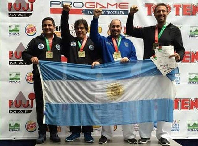 Taekwondo: Olavarrienses salieron campeones del mundo
