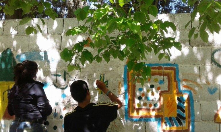 Hogar del Adolescente: Se realizó una jornada artística integrada