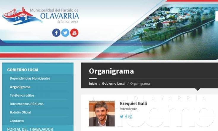 El Municipio renovó su sitio web