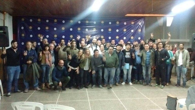 En Alvear, el FpV tuvo su segundo encuentro Seccional