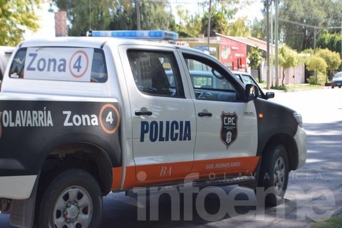 Tras enfrentamiento con la policía un hombre resultó herido
