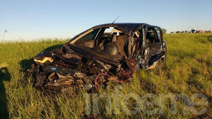 Camionero olavarriense involucrado en accidente cerca de Bolívar