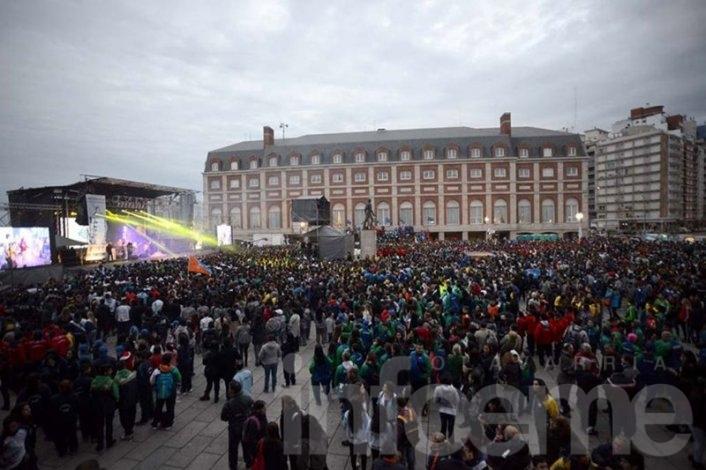 Delegación local en los Juegos Nacionales Evita
