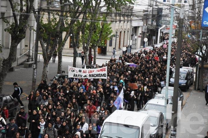 """Las imágenes de la marcha """"Ni una Menos"""""""