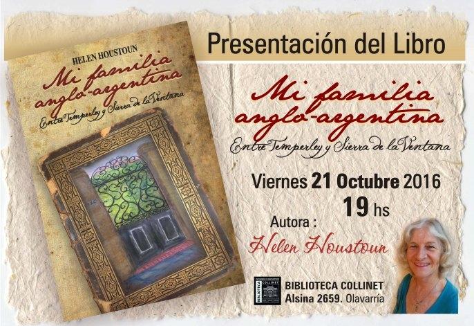 """Presentan el libro Mi familia Anglo-Argentina"""""""