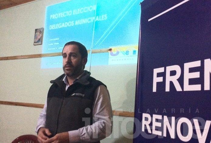 Elección de delegados: UNA presentó proyecto en Espigas