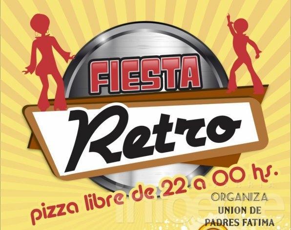 Fiesta retro a beneficio del Colegio Fátima