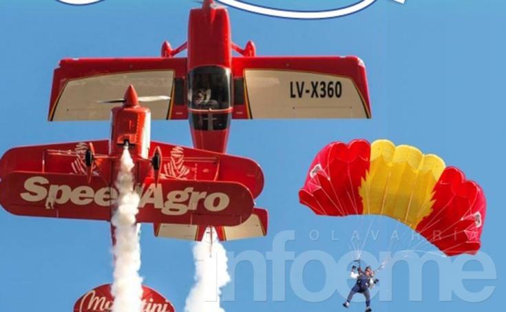 "Llega el festival aéreo ""Olavarría Vuela 2016"""