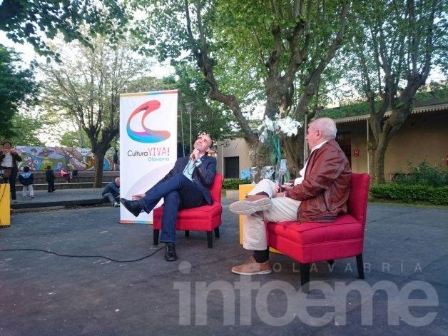 Hoy en Olavarría: Alfredo Leuco, López Rosetti y Sacheri
