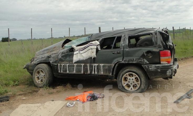 Un muerto en trágico vuelco a metros del autódromo
