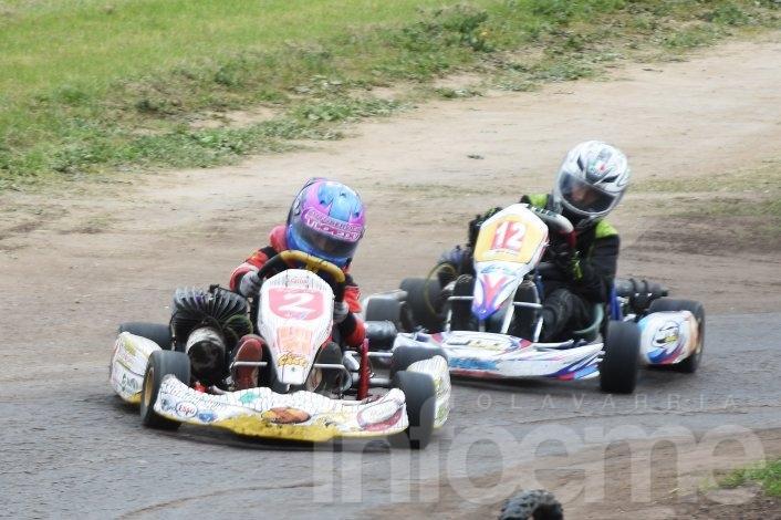 El Karting dio espectáculo en Tandil