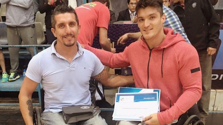 Distinciones para Díaz Aspiroz y Gustavo Fernández