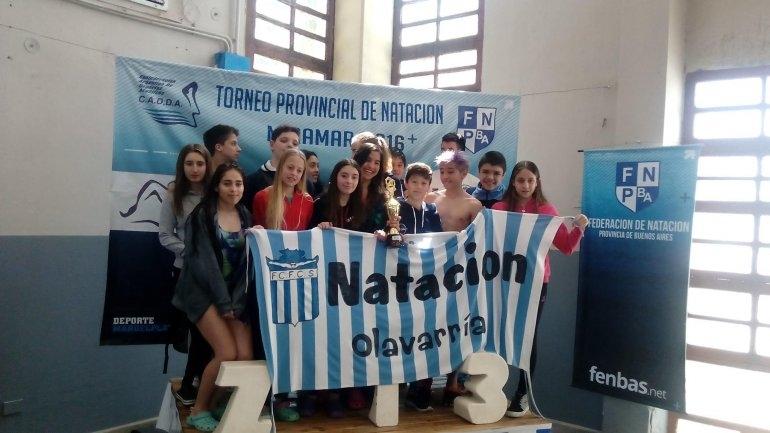 Nadadores de Ferro brillaron en el provincial