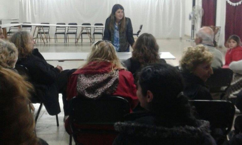 Barrio Ceco: vecinos trabajarán con la Sociedad de Fomento