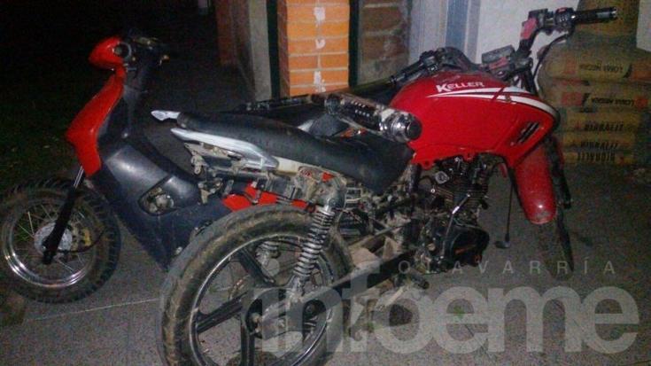Secuestran dos motos y TV LED durante un allanamiento