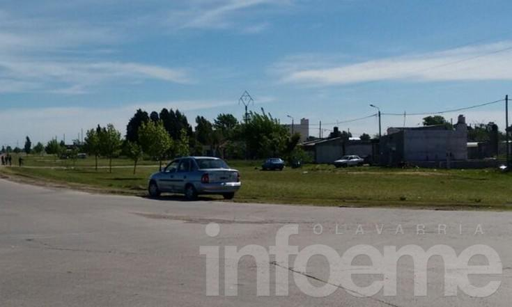 Accidente: Motociclista resultó herido y trasladado al Hospital