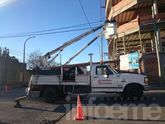 Interrupción servicio eléctrico
