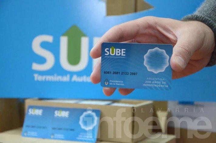 Llegaron las primeras tarjetas SUBE que se entregarán en Olavarría