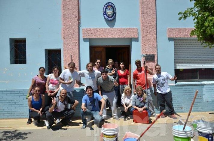 Jornada solidaria en el Jardín N°903 de Hinojo