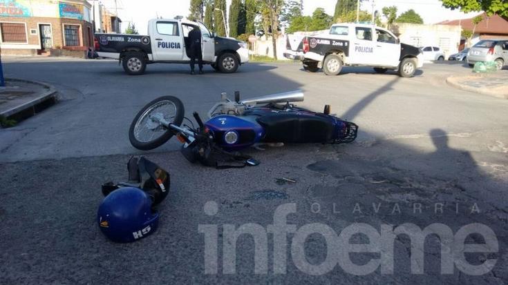 Accidente: un hombre y una niña fueron hospitalizados