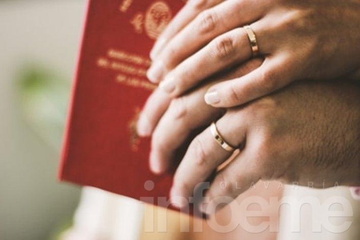 Dos uniones civiles y un casamiento en la Unidad Nº2