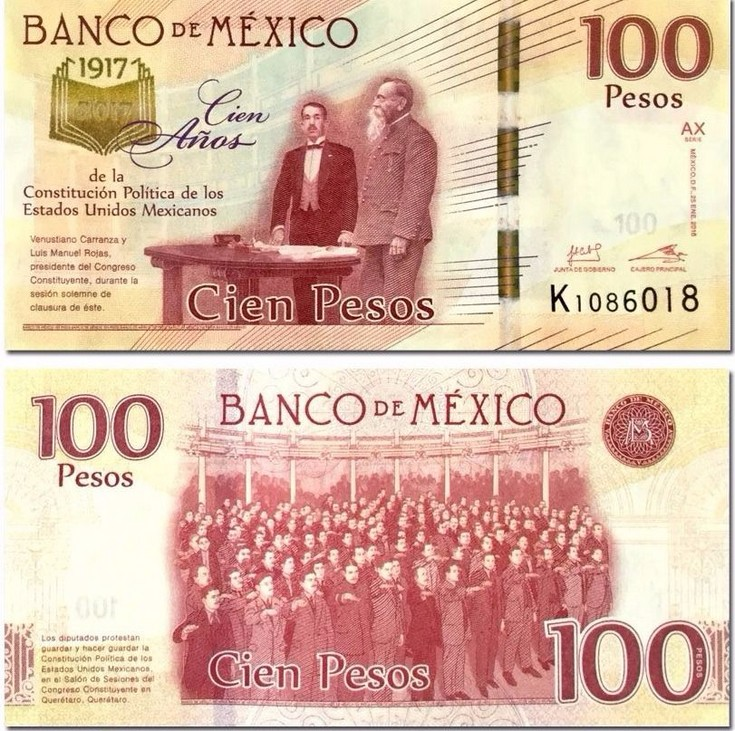 El billete de 200 pesos galardonado como el mejor de Latinoamérica
