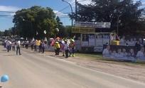 """Voluntarios de Cambiemos  en barrios y """"La Expo"""""""