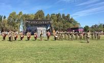 """""""Despacito"""" al ritmo de la banda Militar en la Expo 2017"""