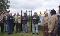 Día de la Lealtad: acto en Sierras Bayas