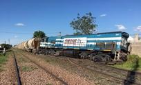 Descarriló un tren a la altura de avenida Pueyrredón