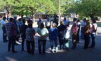 Se realizó el acto por el Día de la Lealtad en Sierras Bayas
