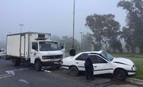 Camionero olavarriense protagonizó violento accidente