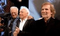 """""""Coco"""" Basile, Guillermo Coppola y el """"Bambino"""", juntos en el Teatro"""
