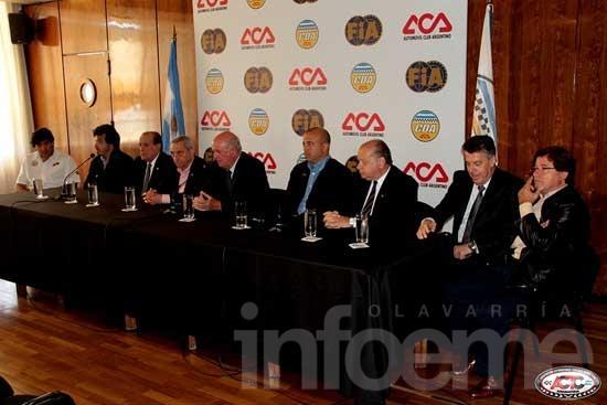 Presentaron el calendario 2014 del TC: Olavarría espera su lugar