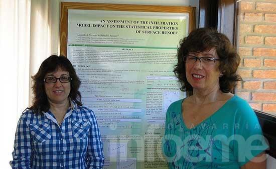 Docentes de Ingeniería llevaron a Grecia sus investigaciones sobre hidrología