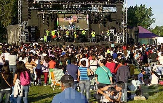 Arrancó la fiesta de las Callejeadas en Parque Cerrito