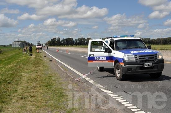 Continúa grave el ciclista atropellado en Ruta 226
