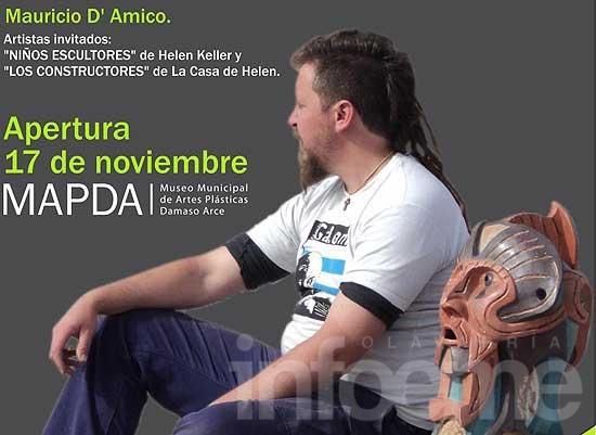Mauricio D'Amico inaugura nueva muestra en el Mapda
